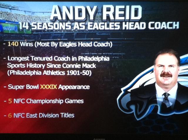 Reid Accolades on TV