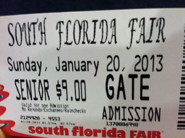 Senior Ticket