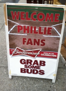 Phillie Sign
