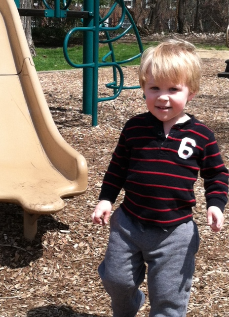 Park - Ethan Hanging