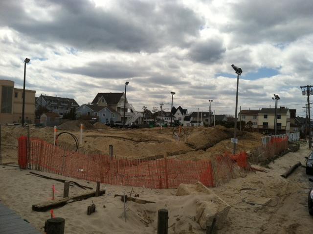 Shore pile