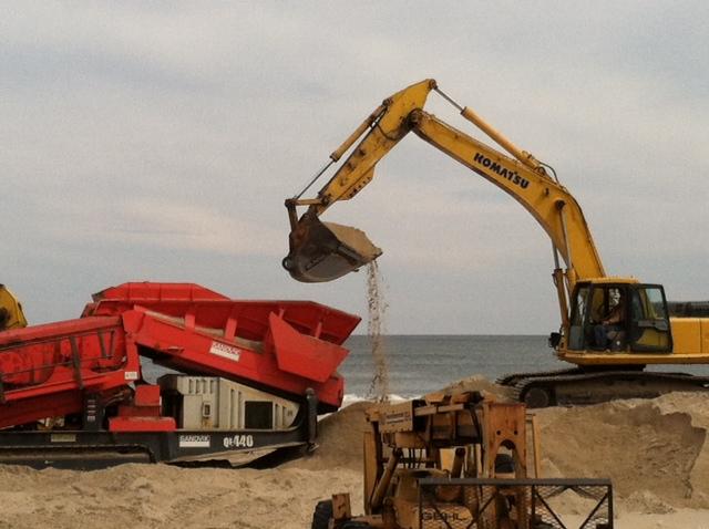 Shore Rebuild crane