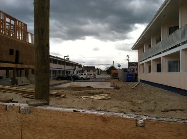 Sands pool