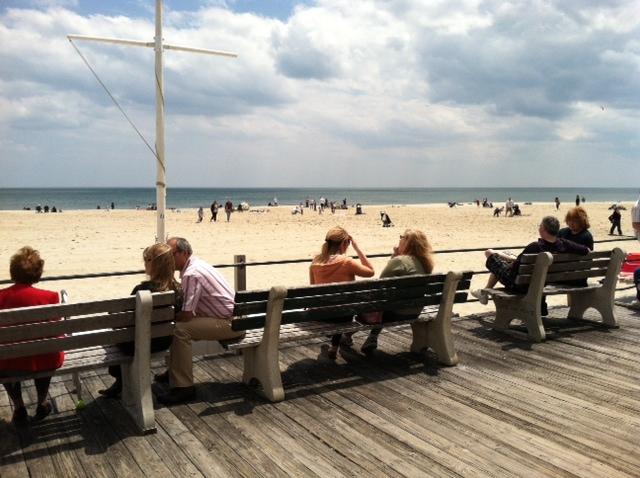 Shore benches