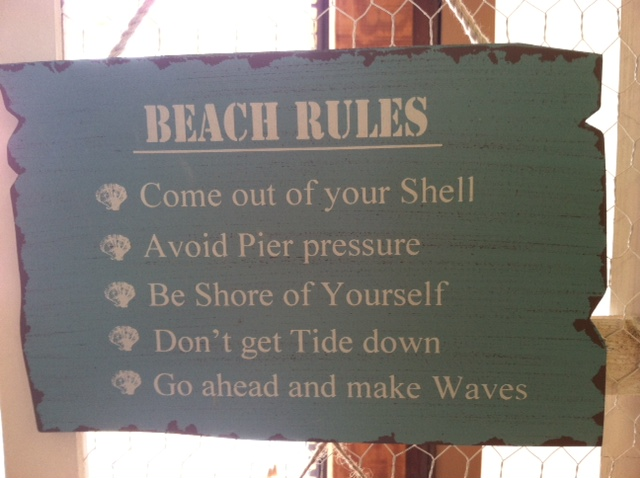 Sand House Rules