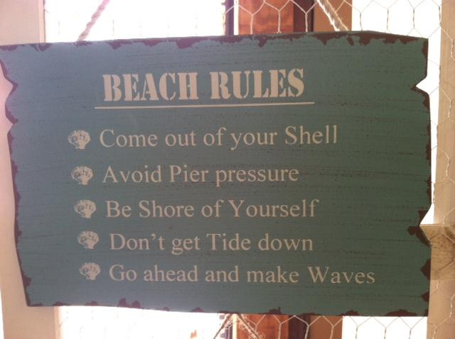 Sand House Rules