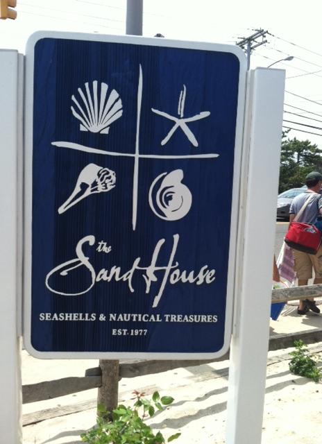 Sand House Sign