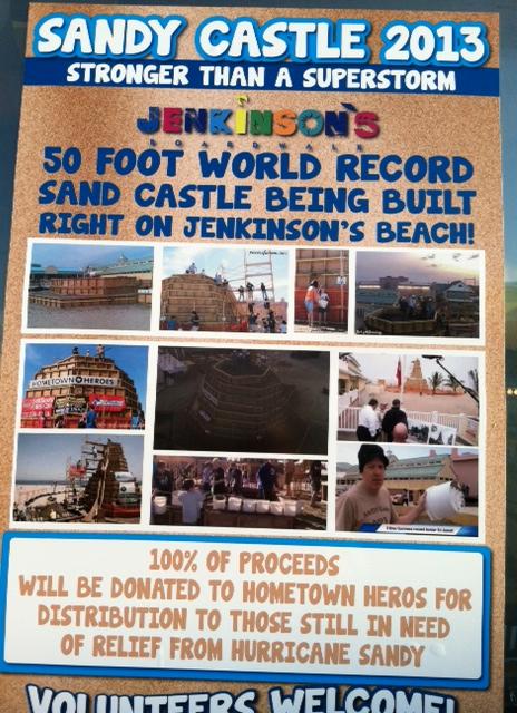 Sandy Castle 2013
