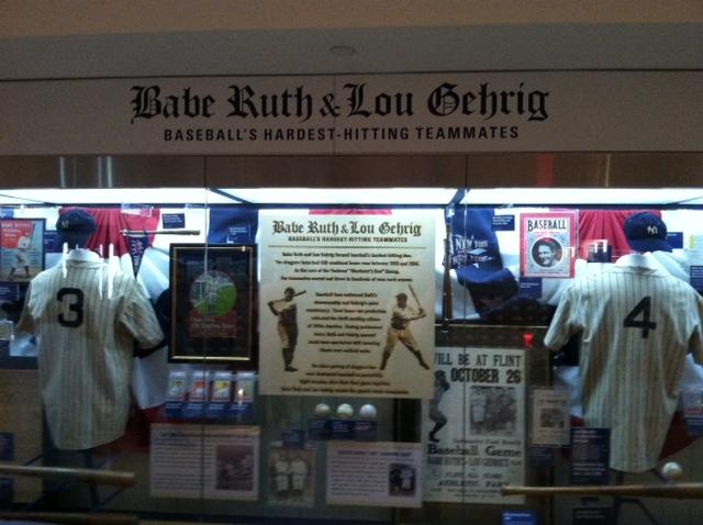 Yanks Ruth Gehrig