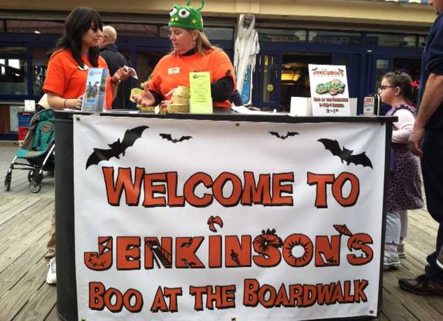 Jenks Boo Sign