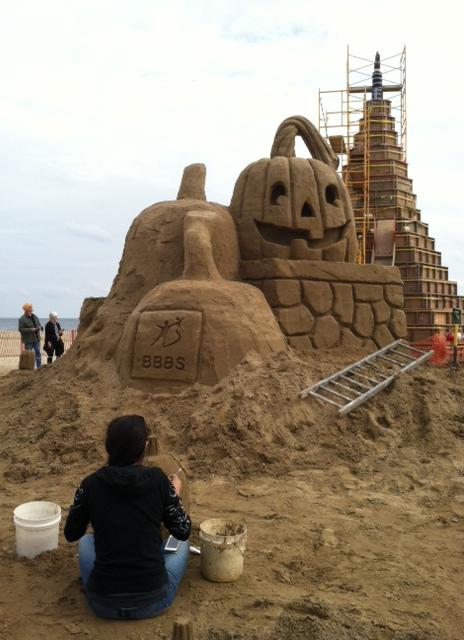 Sandy Castle 3
