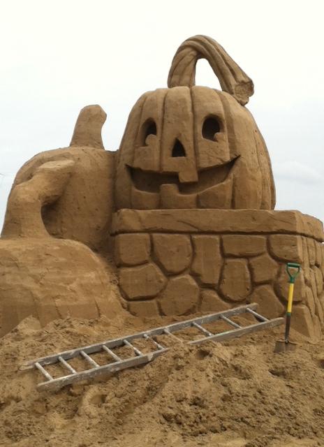 Sandy Castle 4