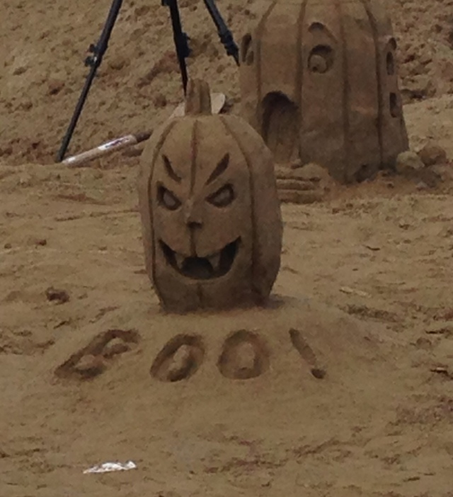 Sandy Castle Boo