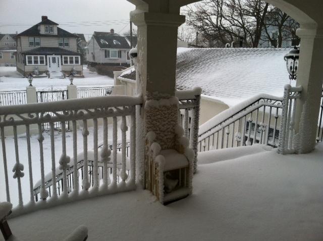Snow Porch 2