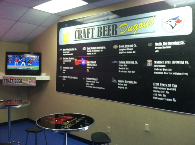 Craft Beer Dugout