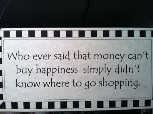 Dunedin Shopping Sign