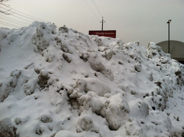 Snow Mounds