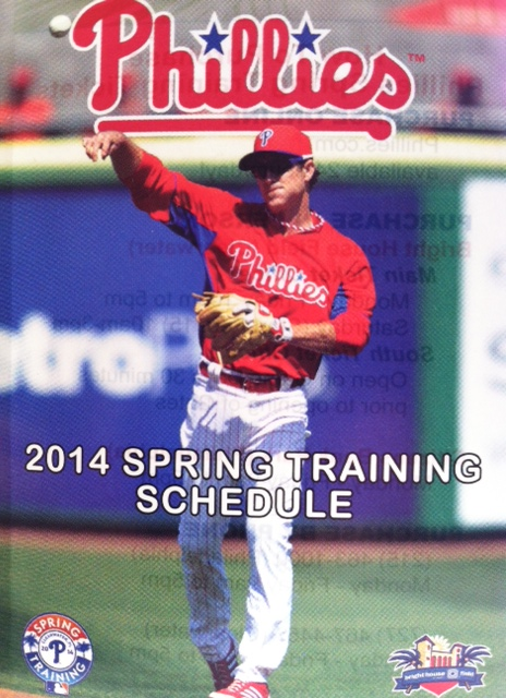 Spring Training Sched Cover
