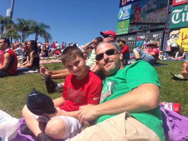 Carson & Daddy
