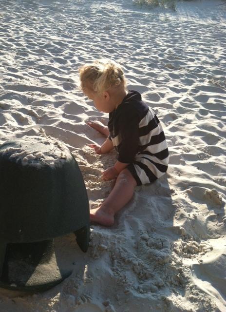 Ella Sand Play