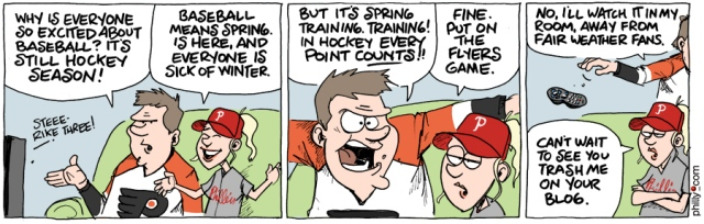 Flyers Cartoon