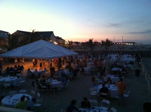 Tiki Party Sunset