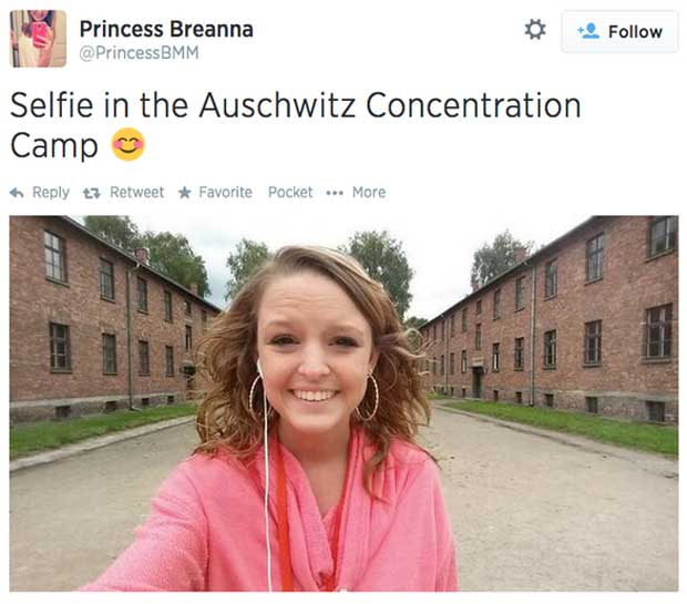 Washington Post Selfie