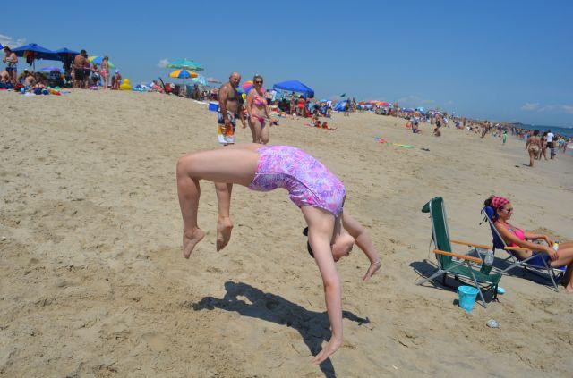 Kayla Back Flip