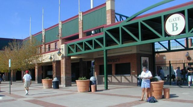 scottsdale stadium outside