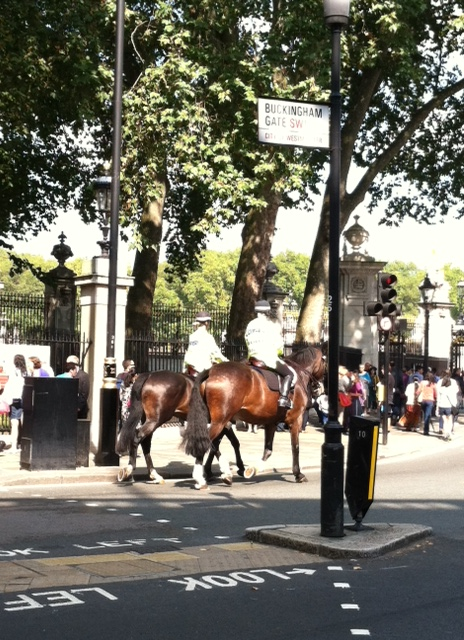 England - Horses to Palace