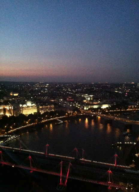 GB - Dusk from The Eye