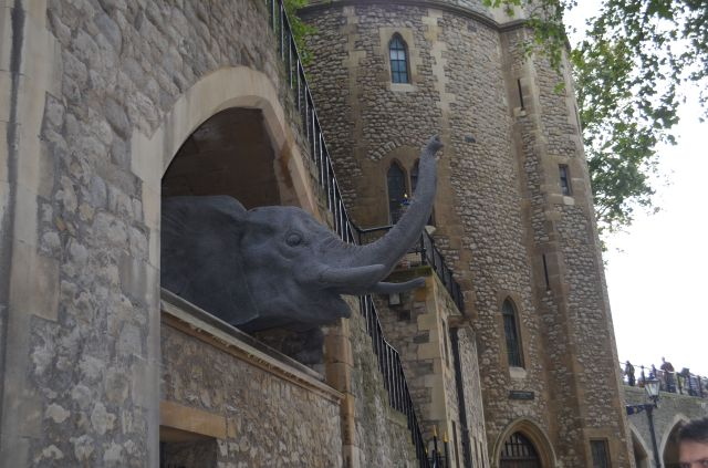 London - Elephant at Tower