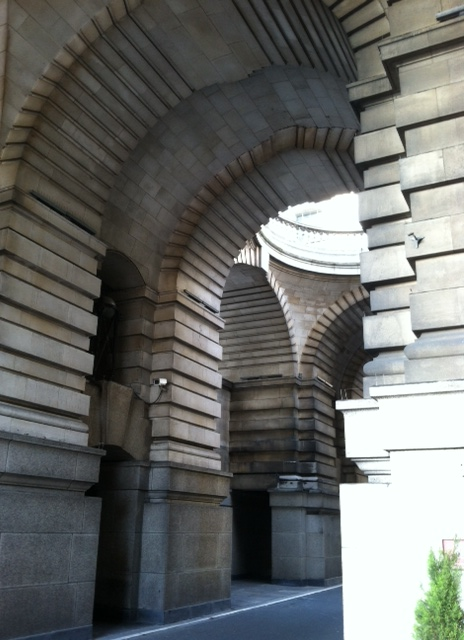 London Marriott archways