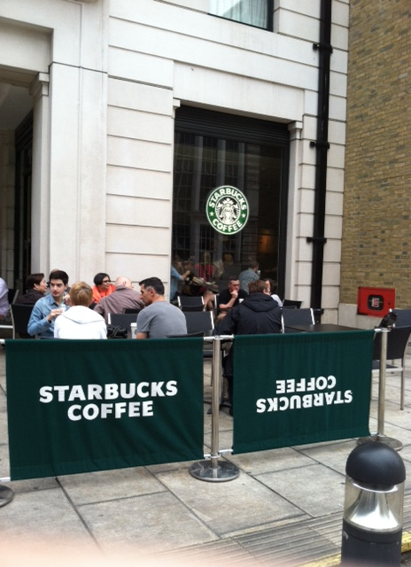London - Starbucks