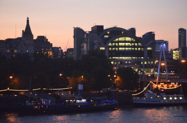 London - Thames at Dusk