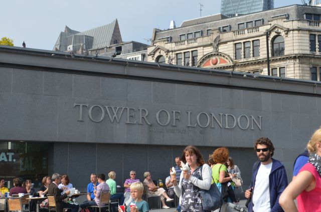 London Tower Sign