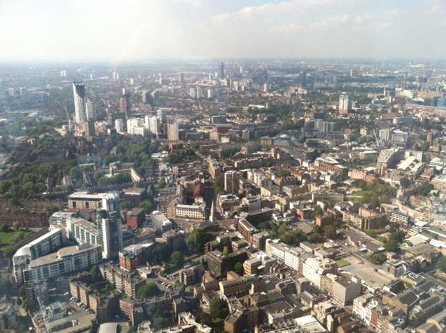 London - View from the Shard 1