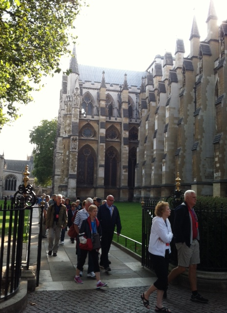 London Westminster Abbey Visitors
