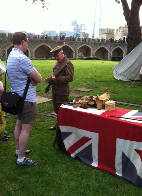 Tower Soldier Brit