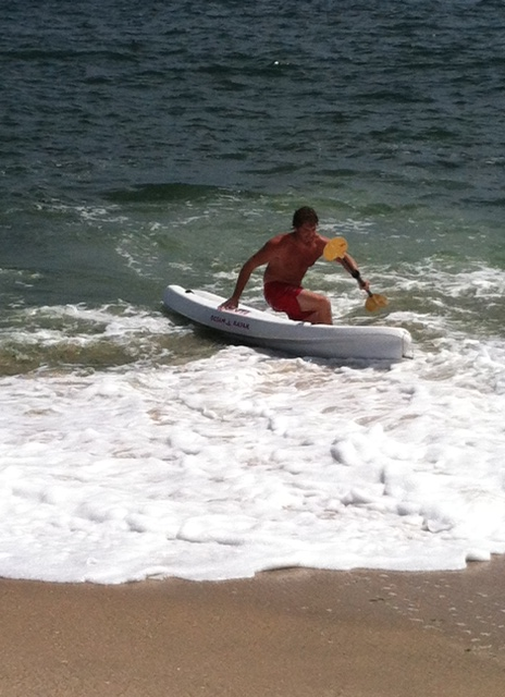 PPB Lifeguard in Boat