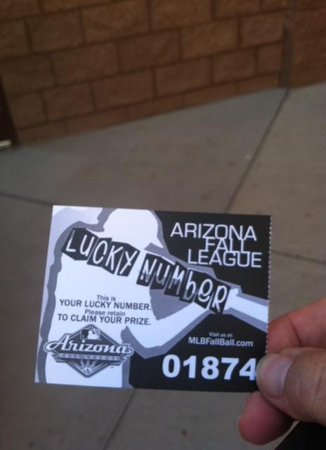 AFL Prize Ticket