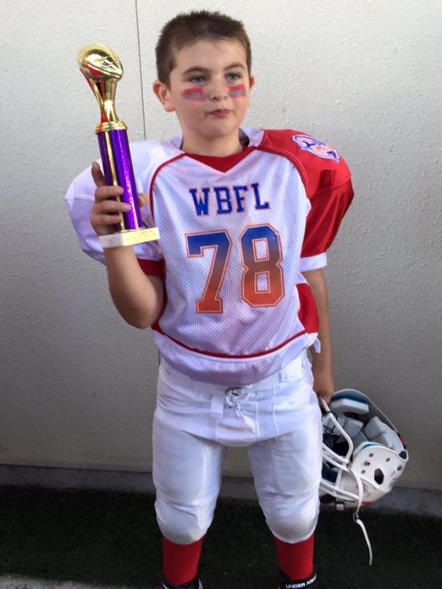 Carson Football Trophy