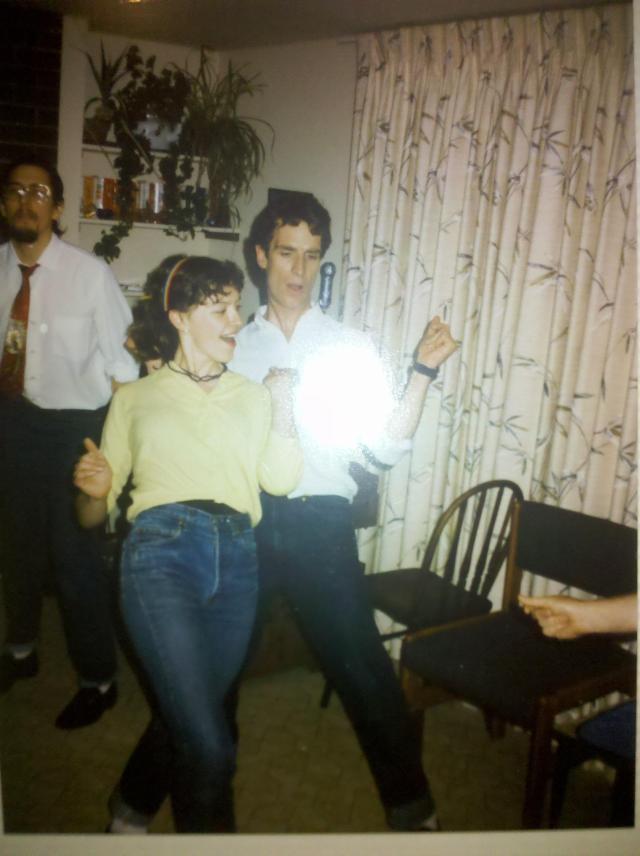 Bill Nye in 1980s