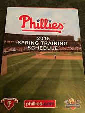 Phillies ST 2015 Schedule