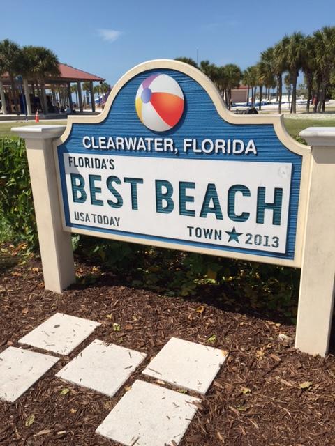 CB Best Beach Sign