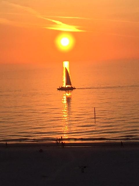 CB Sail Into Sunset