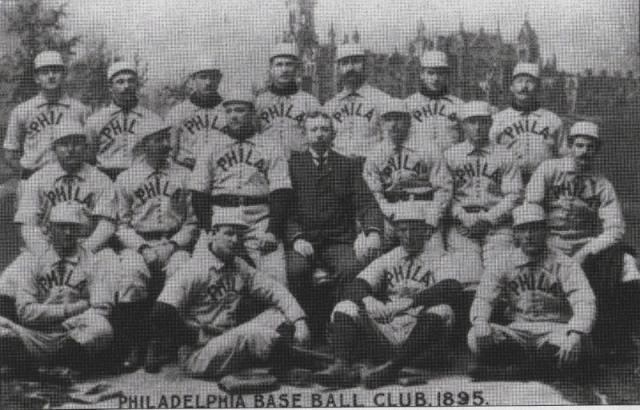 Phillies Team Photo 1895