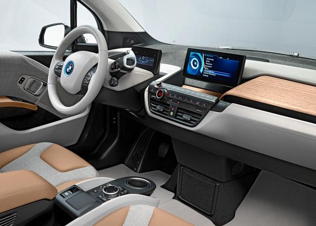 BMW i3 Interior Nicer