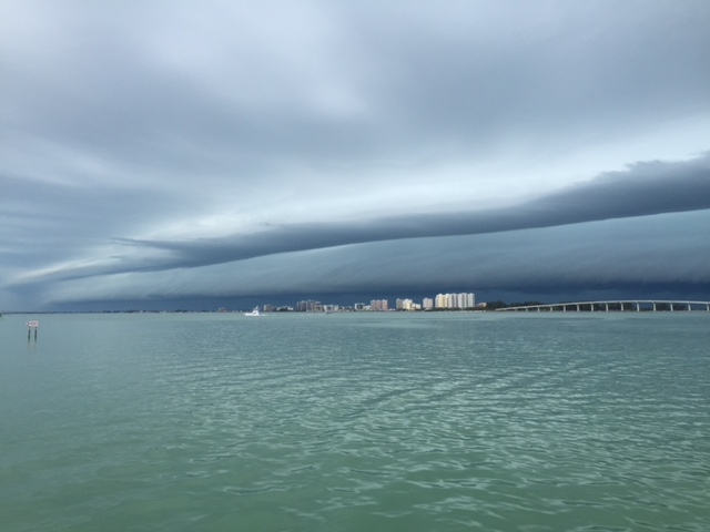 Friday Ominous Sky Haunting