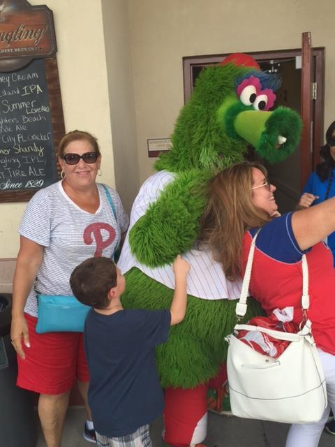 M Photobombs Phanatic